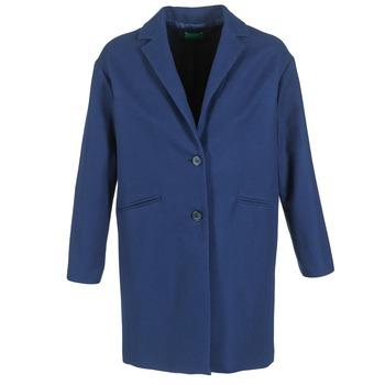 Ruhák Női Kabátok Benetton AGRETE Tengerész