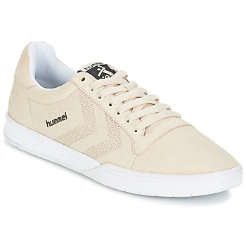 Shoes Rövid szárú edzőcipők Hummel HML STADIL CANVAS LO Krém