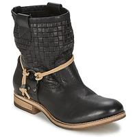 Cipők Női Csizmák Koah DANIA Fekete
