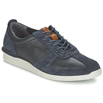 Cipők Férfi Rövid szárú edzőcipők Clarks POLYSPORT RUN Kék