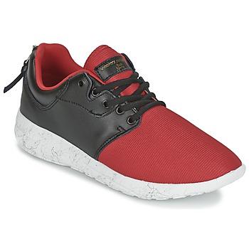 Cipők Női Rövid szárú edzőcipők Sixth June DNR HELL F Piros / Fekete