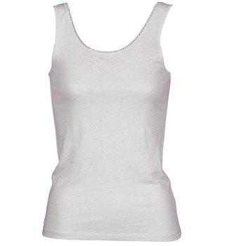 material Női Trikók / Ujjatlan pólók Majestic 701 Fehér