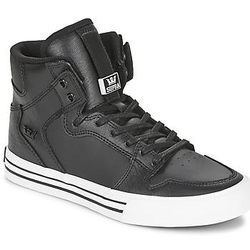 Cipők Magas szárú edzőcipők Supra VAIDER CLASSIC Fekete  / Fehér