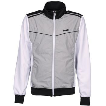 material Férfi Melegítő kabátok Airness GRIFFIN Szürke / Fehér