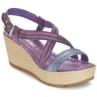 Cipők Női Szandálok / Saruk Samoa JEBEMA Lila / Kék