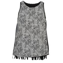 Ruhák Női Trikók / Ujjatlan pólók Color Block PINECREST Szürke / Fekete  / Fehér