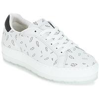 Cipők Női Rövid szárú edzőcipők Diesel S-ANDYES  WOMAN Fehér