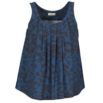 Ruhák Női Trikók / Ujjatlan pólók Lola CUBA Kék / Fekete