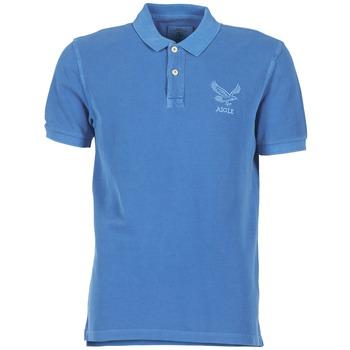 Ruhák Férfi Rövid ujjú galléros pólók Aigle BELAQUA Kék