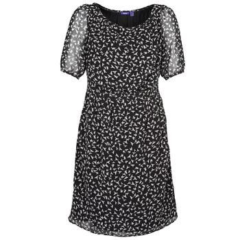 material Női Rövid ruhák Mexx 13LW130 Fekete  / Fehér