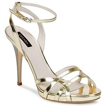 Cipők Női Szandálok / Saruk Escada AS683 Arany