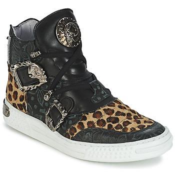Cipők Női Magas szárú edzőcipők New Rock ANTERLO Leopárd