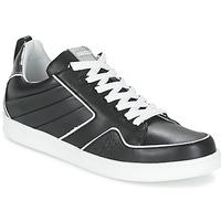 Cipők Női Rövid szárú edzőcipők Kenzo K-FLY Fekete  / Ezüst
