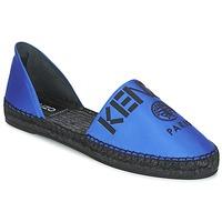 Cipők Női Gyékény talpú cipők Kenzo D'ORSAY Kék