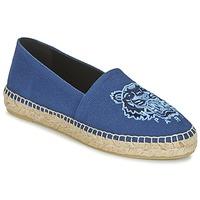 Cipők Női Gyékény talpú cipők Kenzo TIGER HEAD Kék