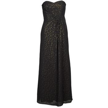 Ruhák Női Hosszú ruhák Manoukian 612930 Fekete  / Arany