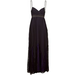 Ruhák Női Hosszú ruhák Manoukian 612933 Fekete