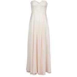 Ruhák Női Hosszú ruhák Manoukian 613346 Rózsaszín / Bézs