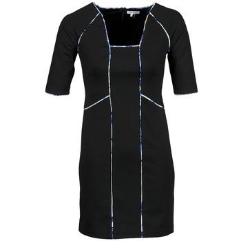 Ruhák Női Rövid ruhák Manoukian 613369 Fekete