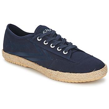 Cipők Rövid szárú edzőcipők Feiyue FELO PLAIN Kék / Fehér