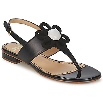 Cipők Női Szandálok / Saruk Moschino Cheap & CHIC CA16112C1ZCB Fekete