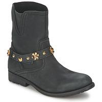 Cipők Női Csizmák Moschino Cheap & CHIC CA21013G1ZCE Fekete