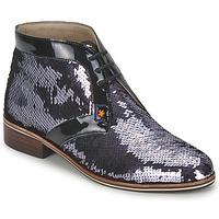 Cipők Női Oxford cipők C.Petula PEGASE Ezüst