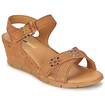 Cipők Női Szandálok / Saruk Manas  Teve