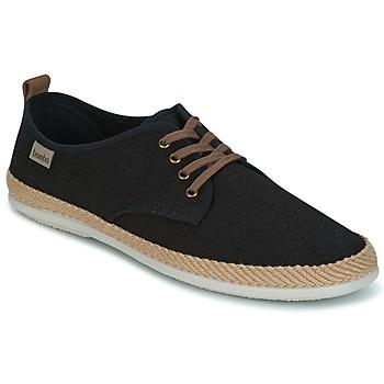 Cipők Férfi Rövid szárú edzőcipők Bamba By Victoria BLUCHER LINO DETALLE SERRAJE Fekete