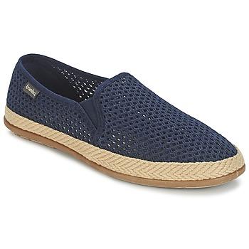 Cipők Férfi Belebújós cipők Bamba By Victoria COPETE ELASTICO REJILLA TRENZA Tengerész