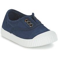 Cipők Gyerek Rövid szárú edzőcipők Victoria INGLESA LONA TINTADA Tengerész