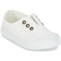Cipők Gyerek Rövid szárú edzőcipők Victoria INGLESA LONA TINTADA Fehér