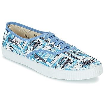 Cipők Rövid szárú edzőcipők Victoria INGLES PALMERAS Kék