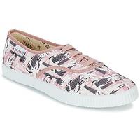 Cipők Női Rövid szárú edzőcipők Victoria INGLES PALMERAS Rózsaszín