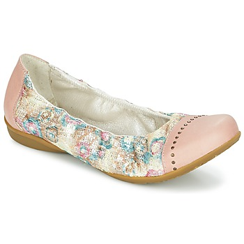 Cipők Női Balerina cipők / babák Dkode FARIS Rózsaszín