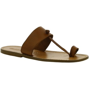 Cipők Női Csizmák Gianluca - L'artigiano Del Cuoio 554 U CUOIO CUOIO Cuoio