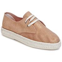 Cipők Női Gyékény talpú cipők Bunker IBIZA Arany