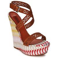 Cipők Női Szandálok / Saruk Missoni XM015 Barna / Sokszínű