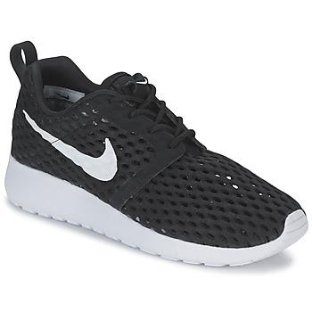 Cipők Fiú Rövid szárú edzőcipők Nike ROSHE ONE FLIGHT WEIGHT BREATHE JUNIOR Fekete