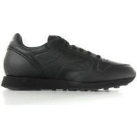 Cipők Férfi Rövid szárú edzőcipők Reebok Sport Classic leather Fekete
