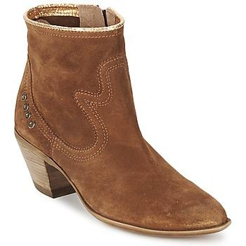 Shoes Női Bokacsizmák Spiral HEIDI Barna / Arany