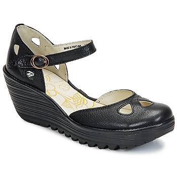 Cipők Női Félcipők Fly London YUNA Fekete