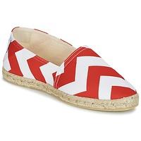 Cipők Női Gyékény talpú cipők Maiett NOUVELLE VAGUE Piros / Fehér