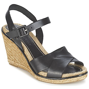 Cipők Női Szandálok / Saruk Nome Footwear ARISTOT Fekete