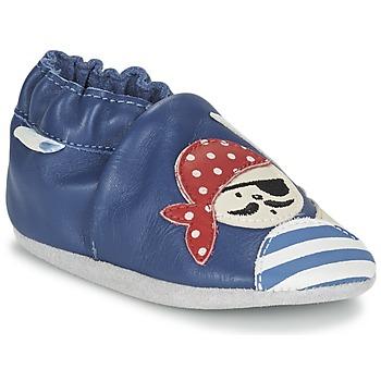 Shoes Fiú Baba mamuszok Robeez JOLLY PEG Kék