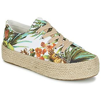 Cipők Női Rövid szárú edzőcipők Wildflower EGINA Zöld / Trópusi