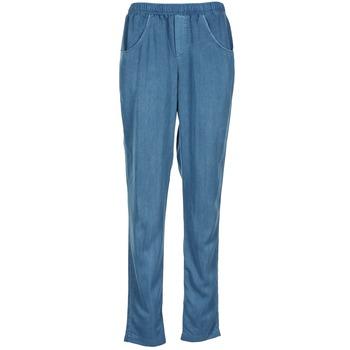 Ruhák Női Lenge nadrágok Vero Moda AMINA Kék