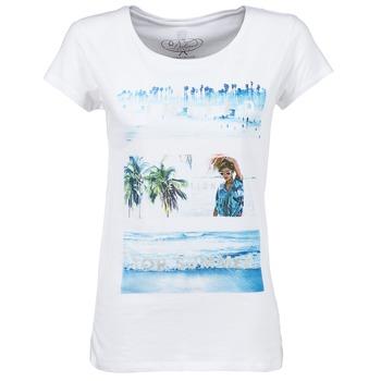 material Női Rövid ujjú pólók Deeluxe TRYP GIRL Fehér