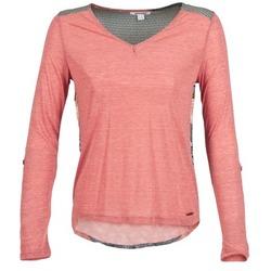 Ruhák Női Hosszú ujjú pólók Smash TIRAMISU Rózsaszín