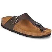 Shoes Női Lábujjközös papucsok Casual Attitude PILTOBLE Barna / Matt